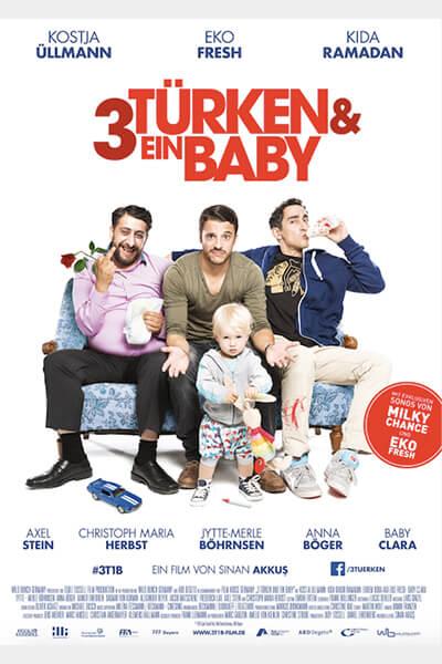 _3 Türken und ein Baby